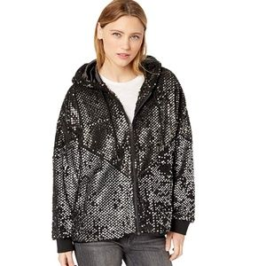 "(NWT) BLANKNYC | Black Sequin ""Lights"" Jacket"